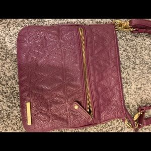 Purple/pink Kenneth Cole Reaction crossbody purse